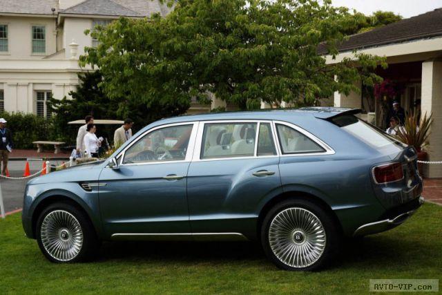 Внедорожник Bentley получит другой дизайн