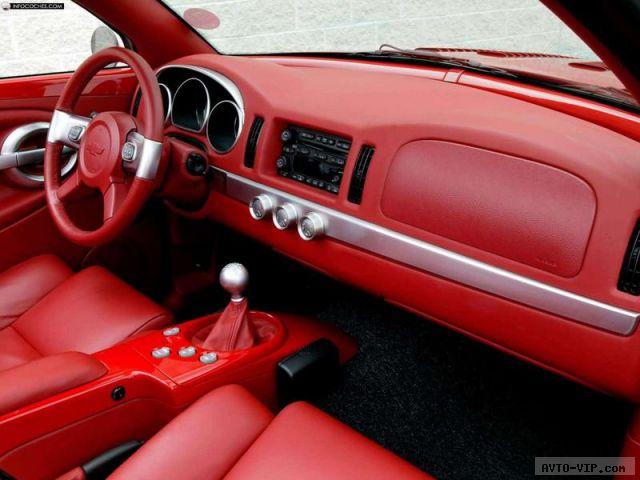 Chevrolet SSR – единственный в мире пикап-кабриолет