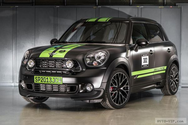 MINI показал JCW Countryman ALL4 Dakar Winner
