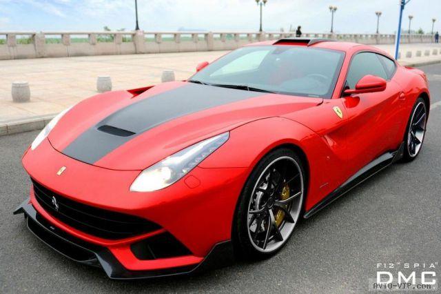 Чарующий тюнинг Ferrari F12 Berlinetta от ателье DMC