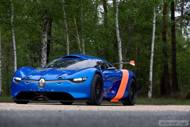 Renault Alpine A110-50 concept 25.5.2012