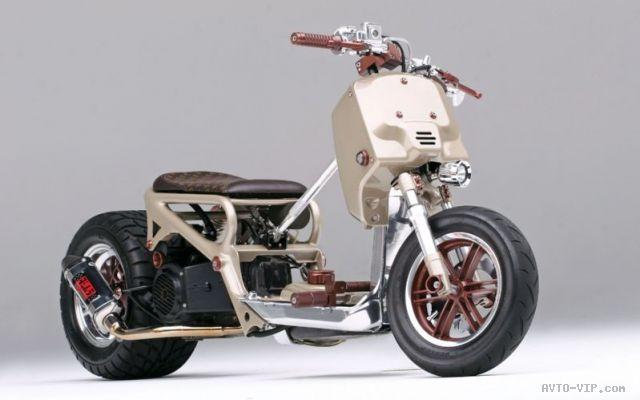 Кастом-скутер LV Project на базе Honda Ruckus (Zoomer)