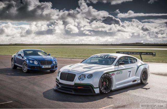 Bentley Continental GT3 – специально для Ле-Мана [фото]
