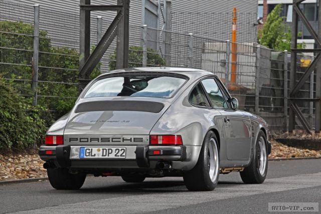 Специалисты ателье DP Motorsport восстановили Porsche 911 1986-го года выпуска