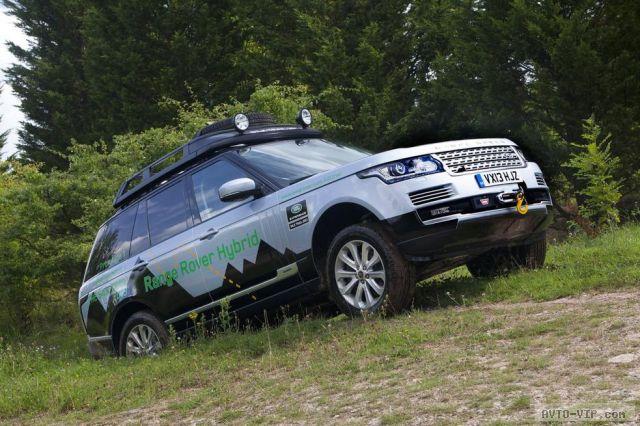 Брутальные внедорожники Range Rover с гибридными мускулами