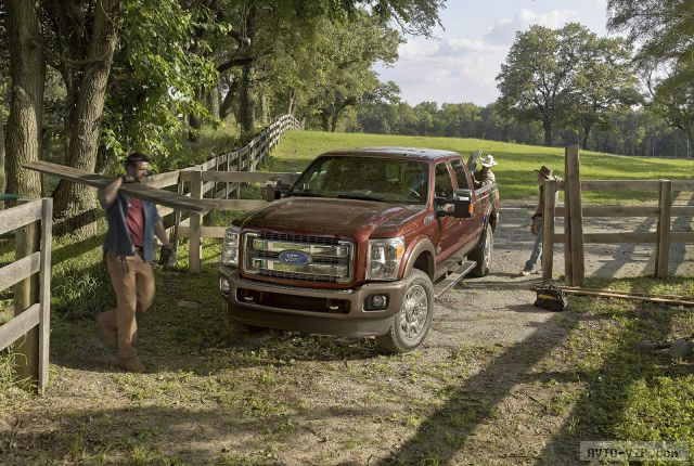 2015 Ford F-250 Super Duty King Ranch 26.09.2013