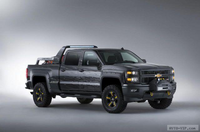Chevrolet Silverado Black Ops cconcept 27.9.2013
