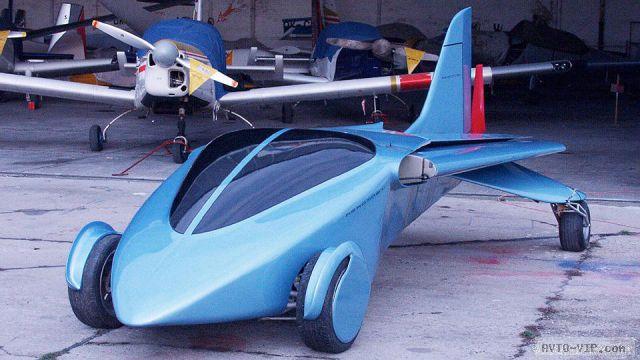 Летающие автомобили Штефана Кляйна Mobil 2.0