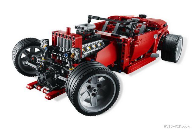 Хот-роды из Лего