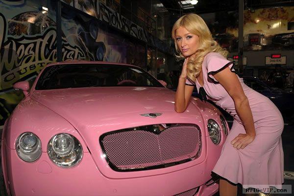 Автомобили звезд кино, музыки и спорта