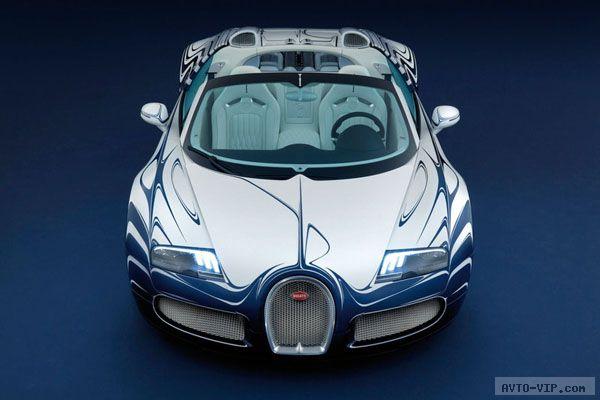 Фарфоровый Bugatti Veyron Grand Sport L'Or Blanc