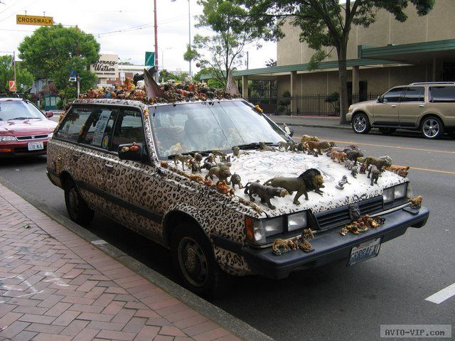 странные авто Zoo Car