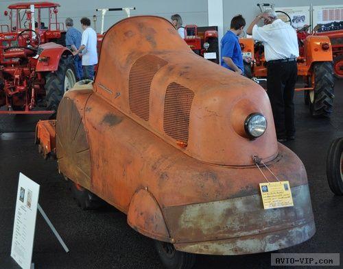 Coffee Train P312 - трактор от Porshe