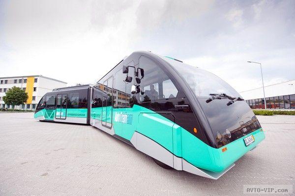 AutoTram – гибрид автобуса и трамвая
