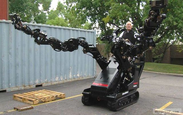 Трактор-робот