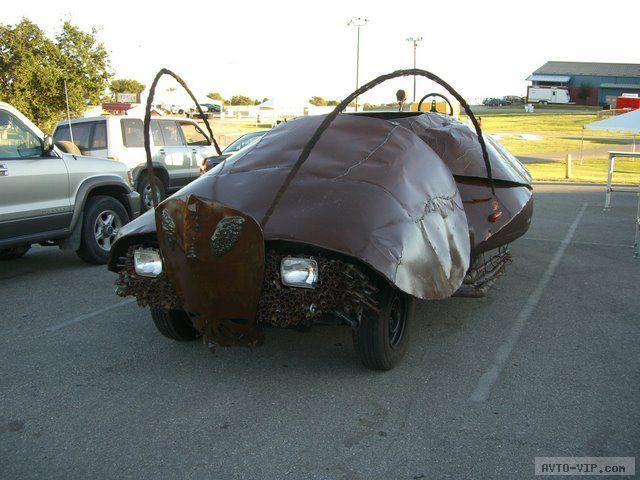 зверские автомобили Ugly Bug Car