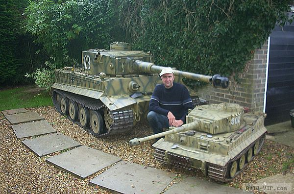 Радиоуправляемая модель танк Тигр