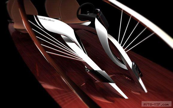 2030 Mercedes-Benz Aria concept car