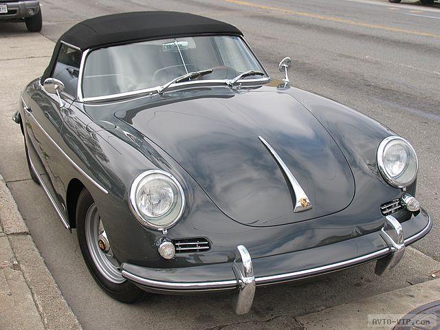 Porsche 356 cabrio grey 1962 Превращение Жука в Порше avto-vip.com