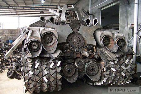 Мегатрон танк Траннсформеры