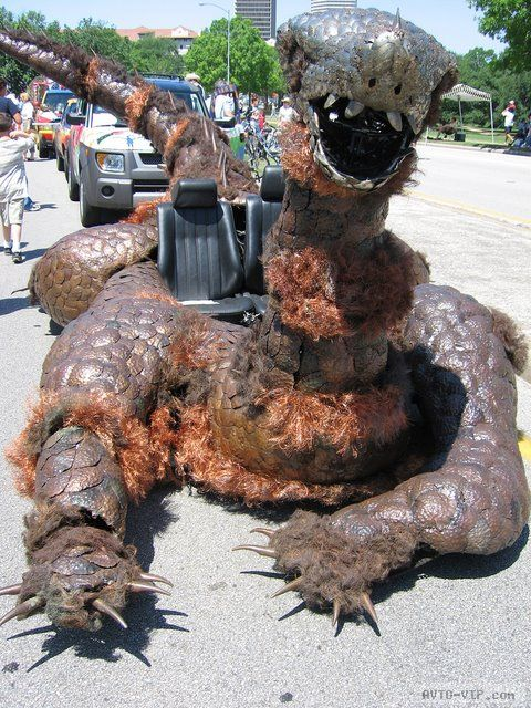 зверские автомобили Ugly Monster Car