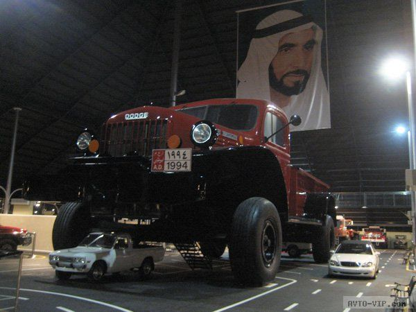 машины из гаража шейха Хамада