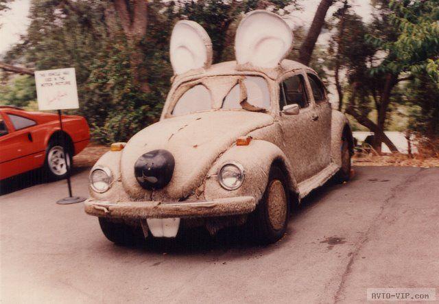 зверские автомобили Mouse Car