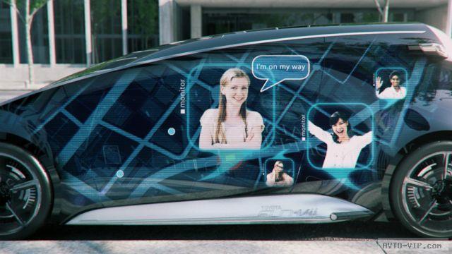 Автомобиль-смартфон Toyota Fun-Vii в Токио