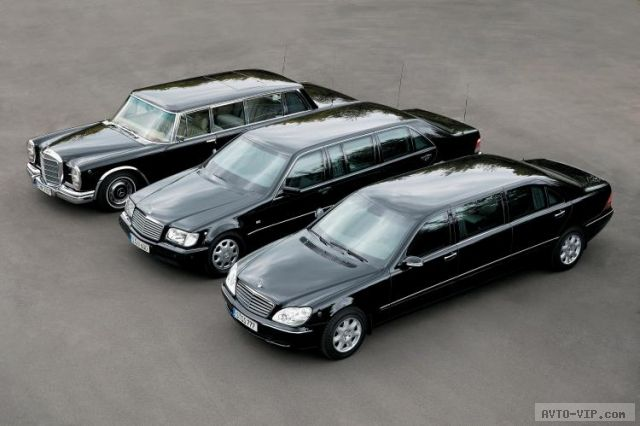 Mercedes Benz S600 Guard