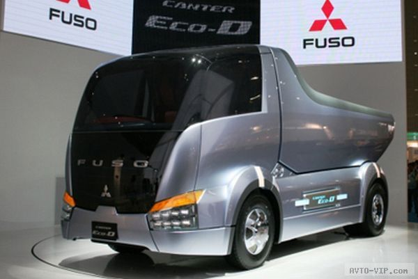 Mitsubishi fuso canter eco d концепт самосвала