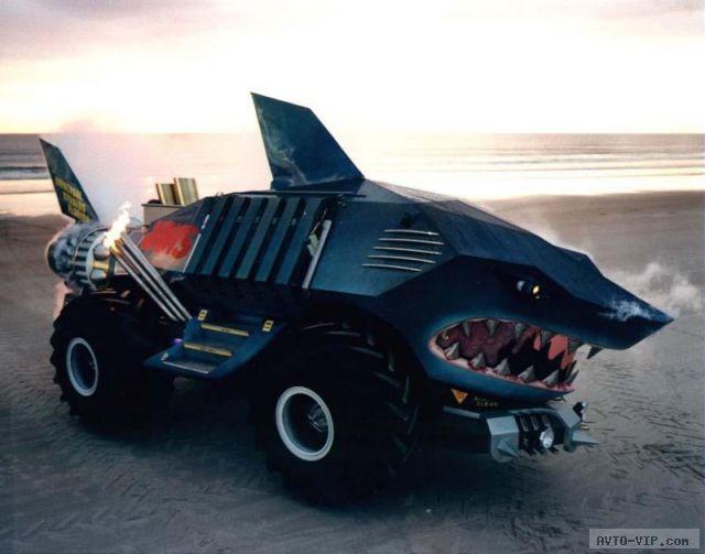 зверские автомобили jaws car