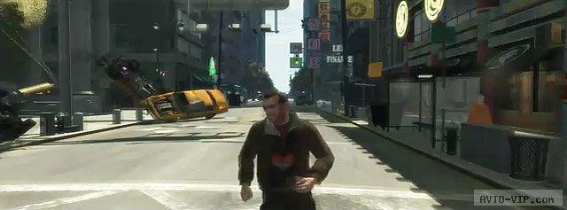 прикол из Grand Theft Auto