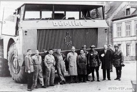 Грузовик Berliet T100
