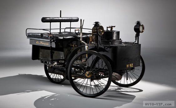 1884 De Dion Bouton Самое старое авто