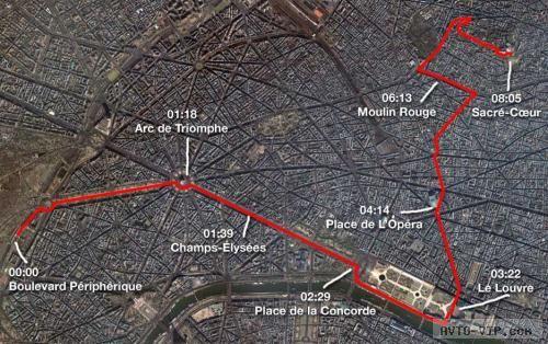 Свидание - улицы Парижа