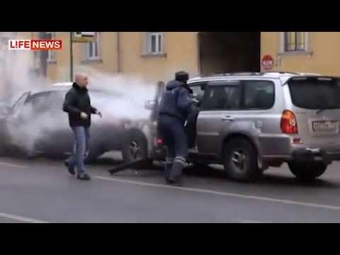 Джип и самосуд на Садовом - Необычные машины.