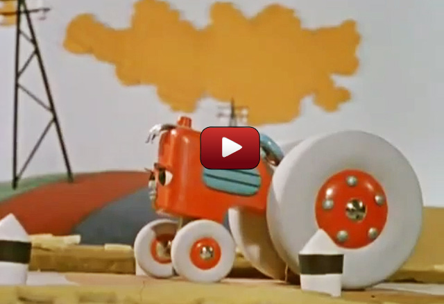 Мультфильм про трактор