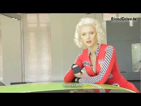 Блондинка и Lamborghini Gallardo Superleggera (видео)