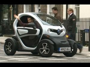 Renault Twizy вызывает недоумение