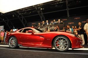 2013 Viper GTS стартует на аукционе