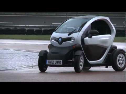 Renault Twizy решили испытать в дрифте (видео)