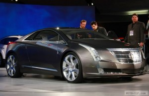 Гибридное купе ELR от Cadillac