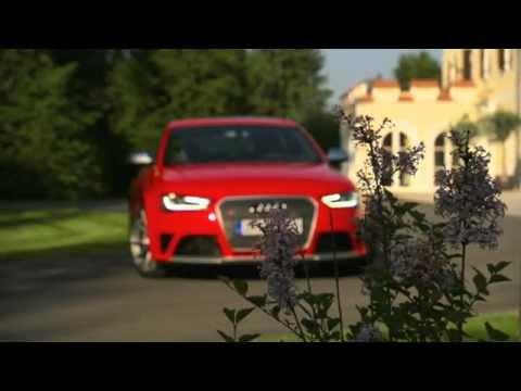 2013 Audi RS4 Avant и звук мотора (видео)