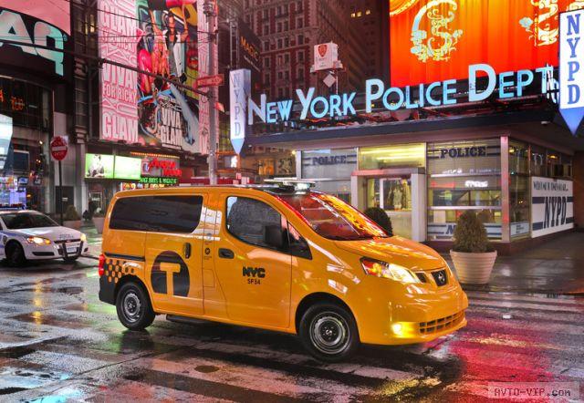 Ниссан становится главным такси в Нью-Йорке
