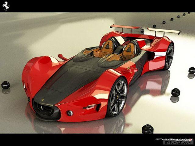 Ferrari Celeritas — парадный концепт