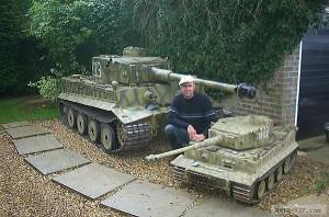 Радиоуправляемые модели танка Тигр