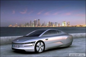 Volkswagen XL1 — суперэкономный автомобиль