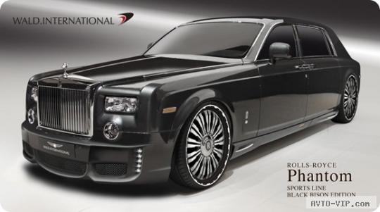 Rolls-Royce Phantom EWB SPORTS LINE Black Bison Edition — просто шик!