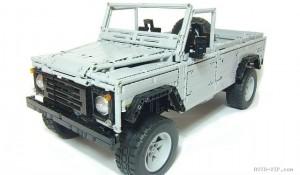Невероятный Land-Rover Defender из конструктора Лего