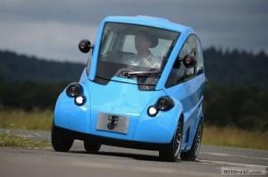 T.27 Новый электроавтомобиль для Мистера Бина